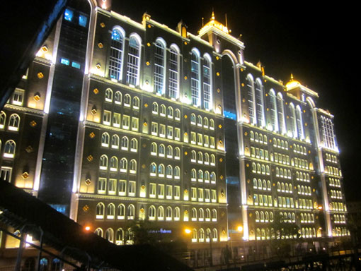 Saifee Hospital night view